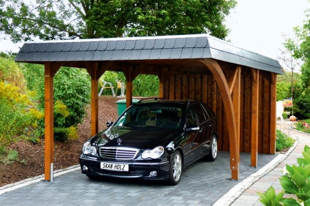 jedem geschmack sein carport eine bilderstrecke zur inspiration myhammer magazin. Black Bedroom Furniture Sets. Home Design Ideas